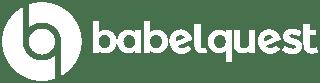 babelquest logo white